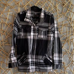 Hurley Buffalo Plaid Jacket